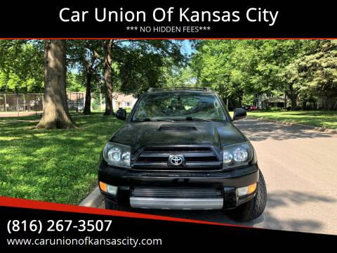 2005 Toyota 4Runner for sale at Car Union Of Kansas City in Kansas City MO