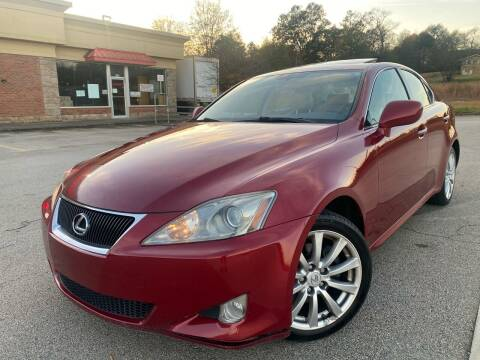 2006 Lexus IS 250 for sale at Gwinnett Luxury Motors in Buford GA