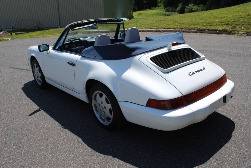 1991 Porsche 911 AWD Carrera 4 2dr Convertible - New Milford CT