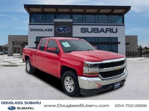 2018 Chevrolet Silverado 1500 for sale at Douglass Automotive Group - Douglas Subaru in Waco TX