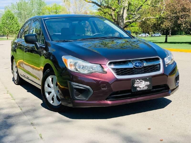 2013 Subaru Impreza for sale at Boise Auto Group in Boise ID