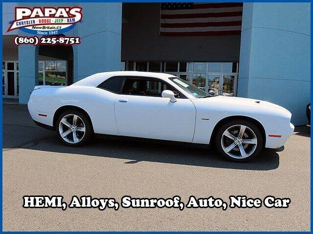 2018 Dodge Challenger for sale at Papas Chrysler Dodge Jeep Ram in New Britain CT