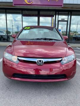 2006 Honda Civic for sale at East Carolina Auto Exchange in Greenville NC