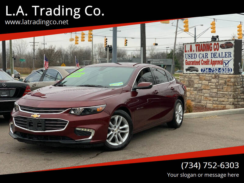 2016 Chevrolet Malibu for sale at L.A. Trading Co. in Woodhaven MI