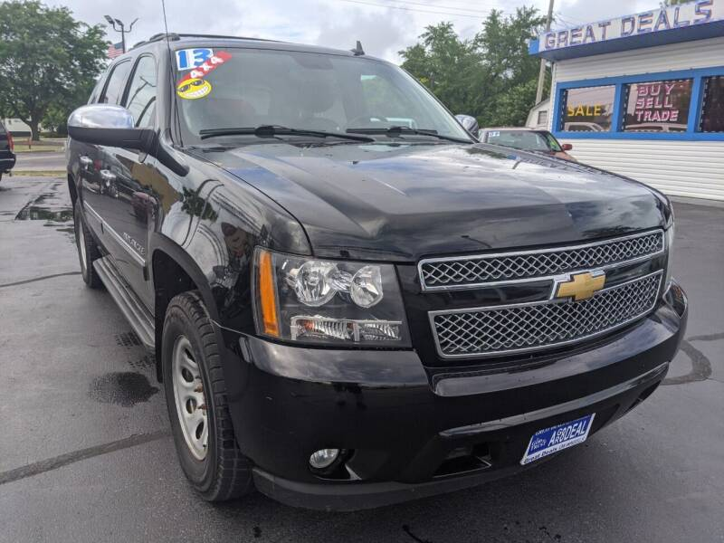 2013 Chevrolet Avalanche for sale at GREAT DEALS ON WHEELS in Michigan City IN