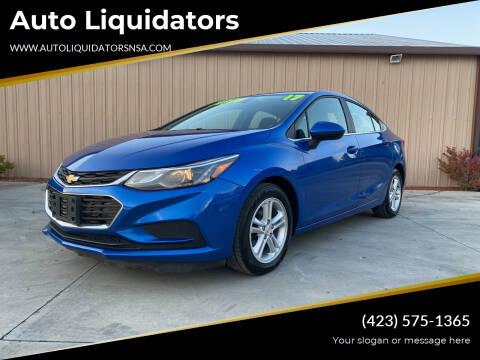 2017 Chevrolet Cruze for sale at Auto Liquidators in Bluff City TN