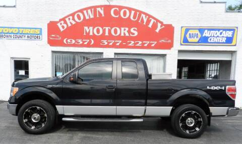 2010 Ford F-150 for sale at Brown County Motors in Russellville OH