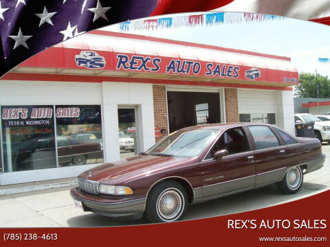 1992 Chevrolet Caprice for sale at Rex's Auto Sales in Junction City KS