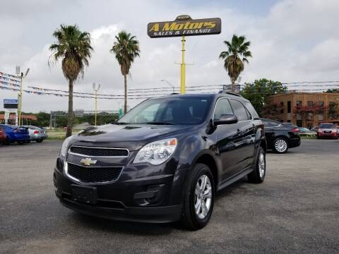2013 Chevrolet Equinox for sale at A MOTORS SALES AND FINANCE in San Antonio TX