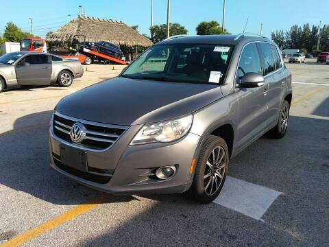 2011 Volkswagen Tiguan for sale at Best Auto Deal N Drive in Hollywood FL