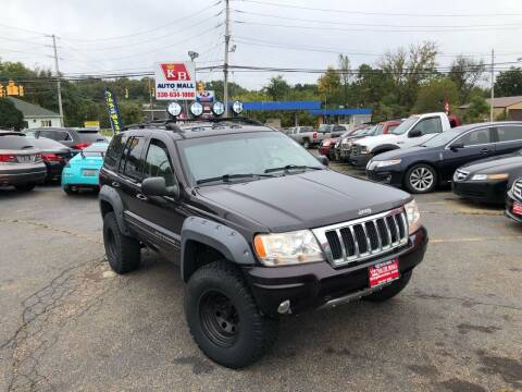 2004 Jeep Grand Cherokee for sale at KB Auto Mall LLC in Akron OH