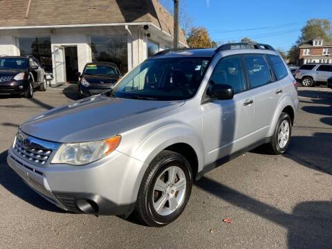 2011 Subaru Forester for sale at ENFIELD STREET AUTO SALES in Enfield CT