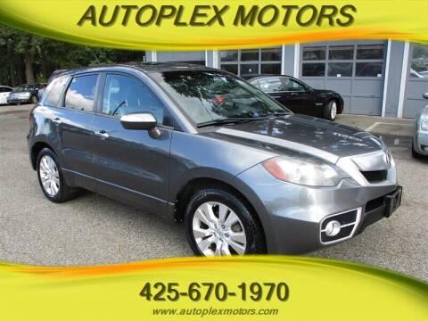 2011 Acura RDX for sale at Autoplex Motors in Lynnwood WA
