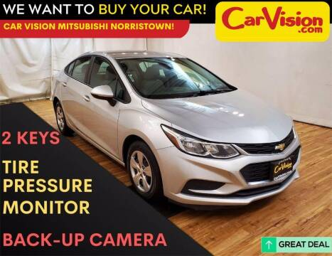 2017 Chevrolet Cruze for sale at Car Vision Mitsubishi Norristown in Trooper PA