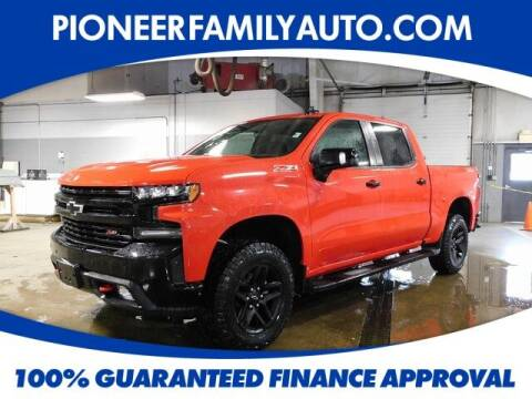 2019 Chevrolet Silverado 1500 for sale at Pioneer Family auto in Marietta OH