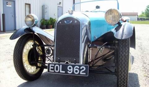 1938 Morgan F4 3 Wheeler