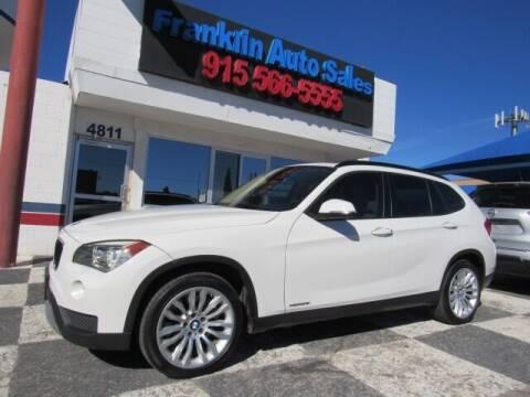 2013 BMW X1 for sale at Franklin Auto Sales in El Paso TX