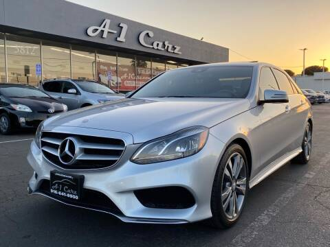 2016 Mercedes-Benz E-Class for sale at A1 Carz, Inc in Sacramento CA
