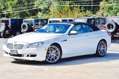 2012 BMW 6 Series for sale at Marietta Auto Mall Center in Marietta GA