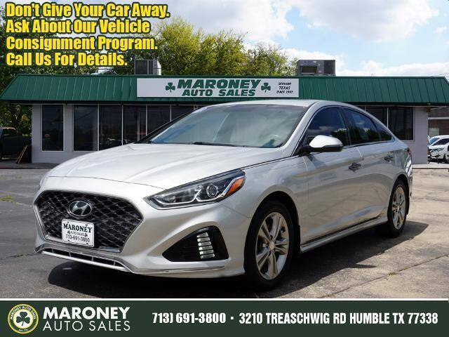 2018 Hyundai Sonata for sale at Maroney Auto Sales in Humble TX