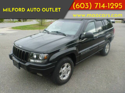 1999 Jeep Grand Cherokee for sale at Milford Auto Outlet in Milford NH