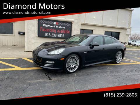 2012 Porsche Panamera for sale at Diamond Motors in Pecatonica IL