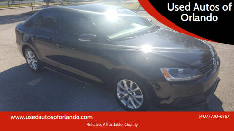2011 Volkswagen Jetta for sale at Used Autos of Orlando in Orlando FL