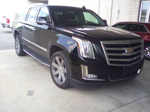 2017 Cadillac Escalade ESV for sale at JOE BULLARD USED CARS in Mobile AL