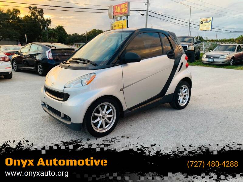 2008 Smart fortwo for sale at ONYX AUTOMOTIVE, LLC in Largo FL
