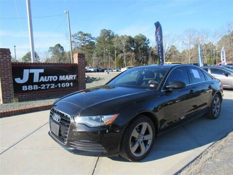2012 Audi A6 for sale at J T Auto Group in Sanford NC