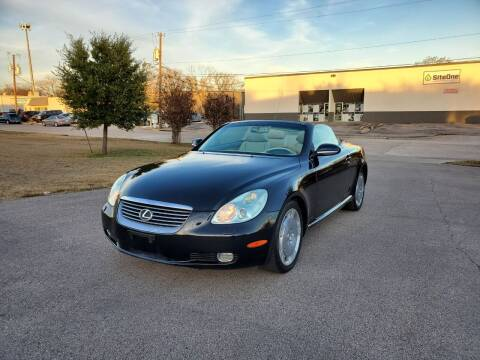 2004 Lexus SC 430 for sale at Image Auto Sales in Dallas TX