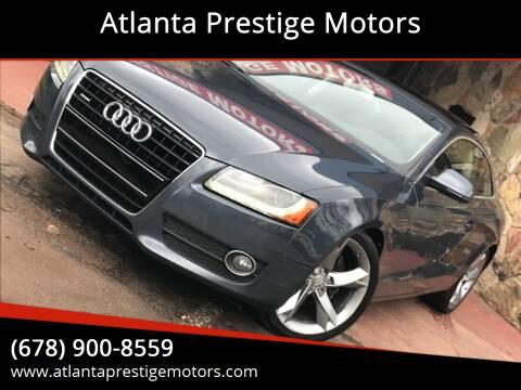 2009 Audi A5 for sale at Atlanta Prestige Motors in Decatur GA
