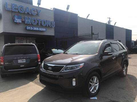 2014 Kia Sorento for sale at Legacy Motors in Detroit MI