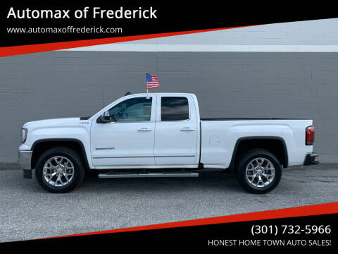 2016 GMC Sierra 1500 for sale at Automax of Frederick in Frederick MD