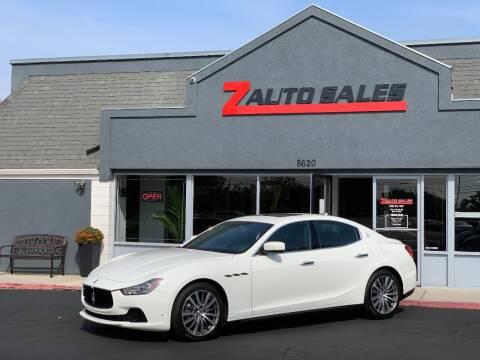 2015 Maserati Ghibli for sale at Z Auto Sales in Boise ID