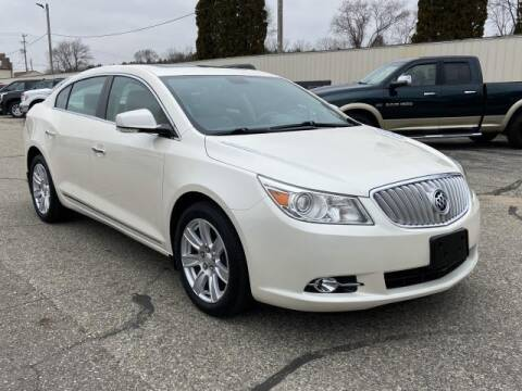 2012 Buick LaCrosse for sale at Miller Auto Sales in Saint Louis MI