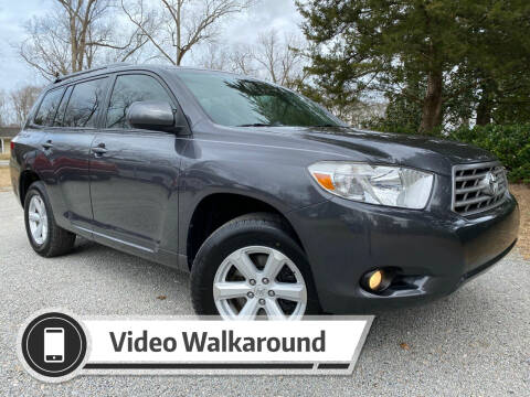 2010 Toyota Highlander for sale at Byron Thomas Auto Sales, Inc. in Scotland Neck NC