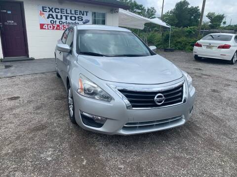 2015 Nissan Altima for sale at Excellent Autos of Orlando in Orlando FL