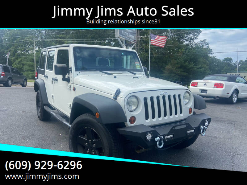 2008 Jeep Wrangler Unlimited for sale at Jimmy Jims Auto Sales in Tabernacle NJ
