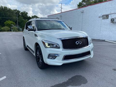 2017 Infiniti QX80 for sale at LUXURY AUTO MALL in Tampa FL