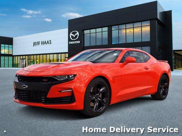 2019 Chevrolet Camaro for sale at JEFF HAAS MAZDA in Houston TX