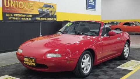 1990 Mazda MX-5 Miata for sale at UNIQUE SPECIALTY & CLASSICS in Mankato MN