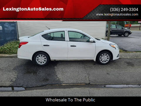 2017 Nissan Versa for sale at LexingtonAutoSales.com in Lexington NC