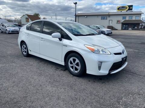 2013 Toyota Prius for sale at Riverside Auto Sales & Service in Portland ME
