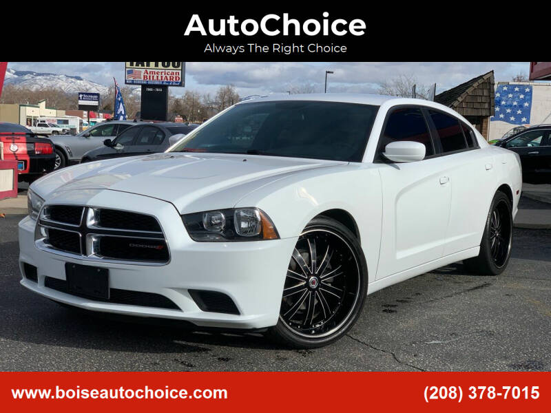 2014 Dodge Charger for sale at AutoChoice in Boise ID