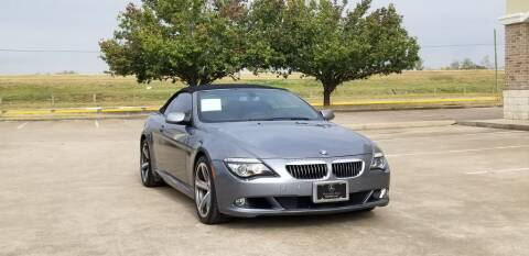 2008 BMW 6 Series for sale at America's Auto Financial in Houston TX
