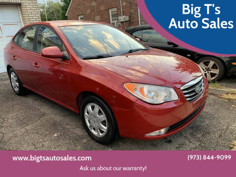 2010 Hyundai Elantra for sale at Big T's Auto Sales in Belleville NJ