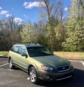 2005 Subaru Outback for sale at ONE NATION AUTO SALE LLC in Fredericksburg VA