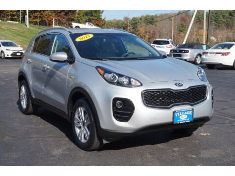 2017 Kia Sportage for sale at VILLAGE MOTORS in South Berwick ME