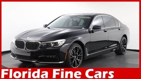 2018 BMW 7 Series for sale at Florida Fine Cars - West Palm Beach in West Palm Beach FL